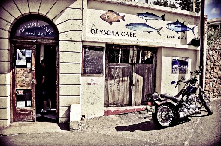 Olympia Cafe & Deli, Kalk Bay. South Africa. BelAfrique your personal travel planner - www.BelAfrique.com