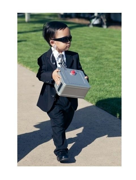 A ring bearer who's also a high-security agent.