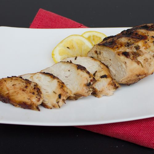 Greek Marinade for Grilled Chicken or Souvlaki. Great sliced with pitas and all the fixings.