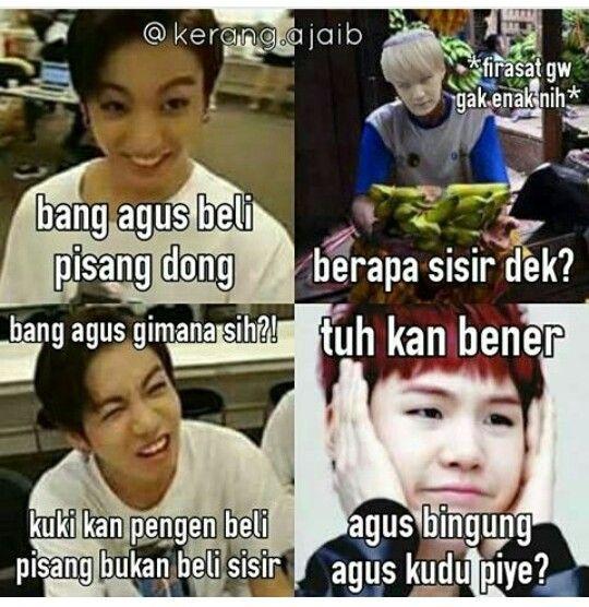 Agus kudu piye?? #Memes #Funny #Indonesia #BTS