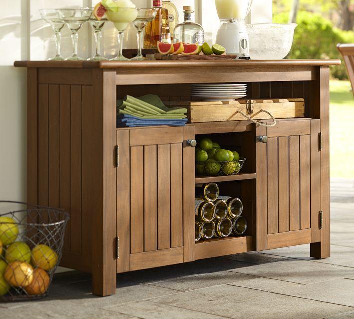 25 best outdoor buffet tables ideas on pinterest. Black Bedroom Furniture Sets. Home Design Ideas