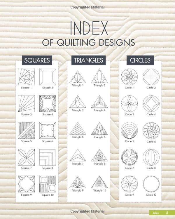 Quilting Stencils Borders Free : 876 best images about free motion quilting designs on Pinterest Quilting patterns, Quilt ...