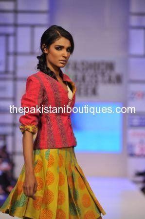 FPW3 Warda Saleem Collection at Fashion Pakistan Week (FPW) 2012 Day 3