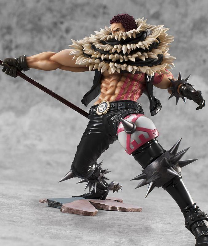 KING OF ARTIST IN BOX ONE PIECE//FIGURA THE CHARLOTTE KATAKURI 24 CM