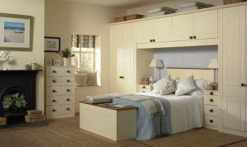 Vanilla Bedroom Doors - By BA Components