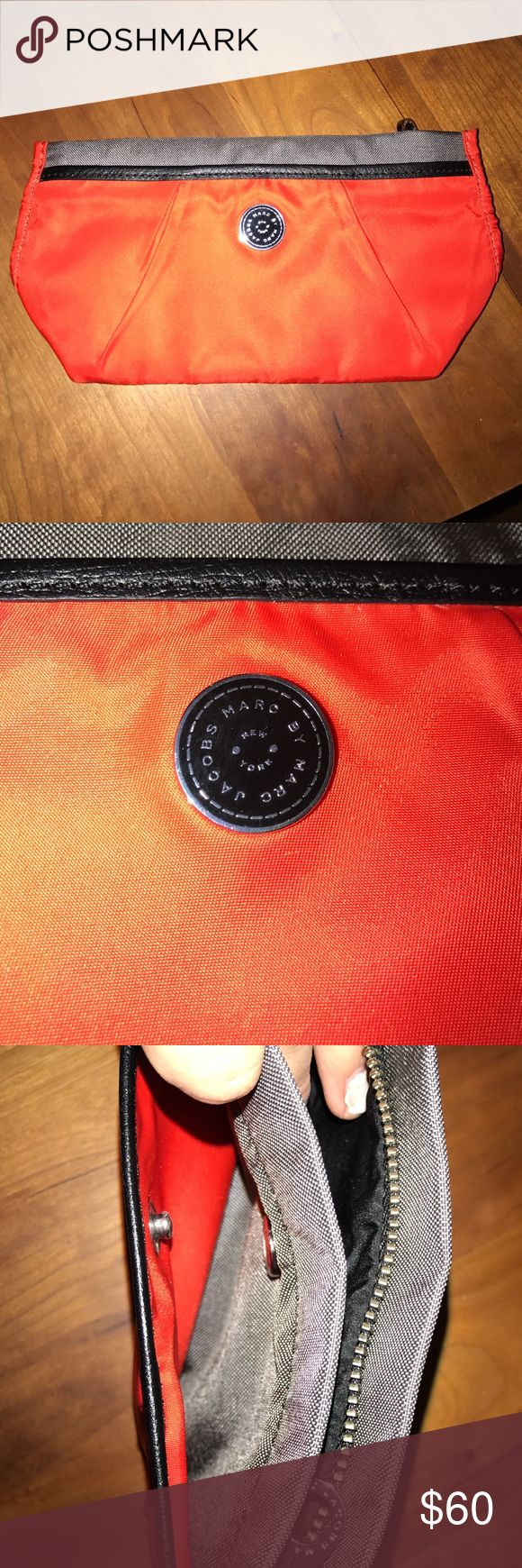 Marc Jacobs Cosmetic pouch Brand new without tags. Never used. Perfect for make up, travel bag. Has two pockets. Marc by Marc Jacobs Bags Cosmetic Bags & Cases