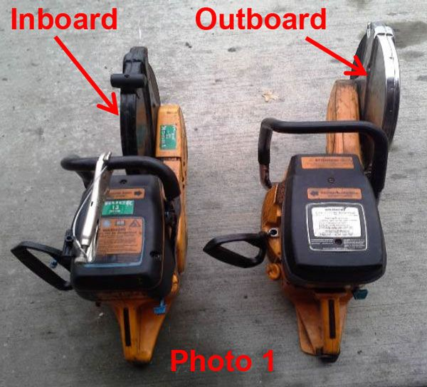 """Firefighter Training Drill: The """"Outboard"""" Forcible Entry Saw"""
