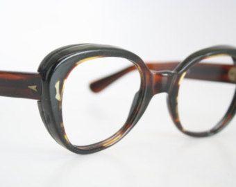 Vintage Eyeglasses Swan Yellow Unused New Old Stock 1970s Retro Eyeglass Frames