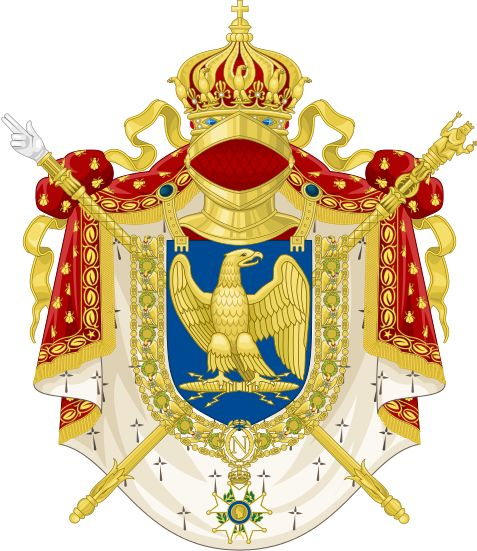 Imperial Coat of Arms of the French First Empire (1804-1815)