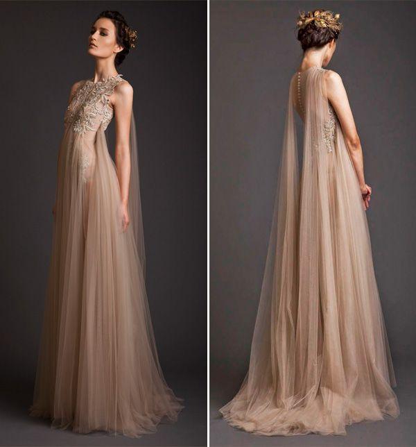 18 vestidos de noiva com capa