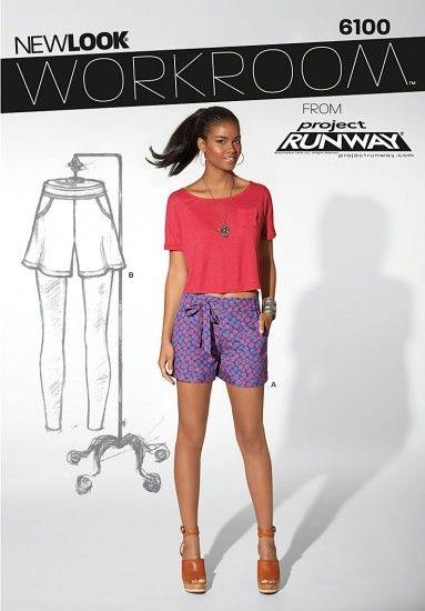 New Look 6100 korte broek of shorts
