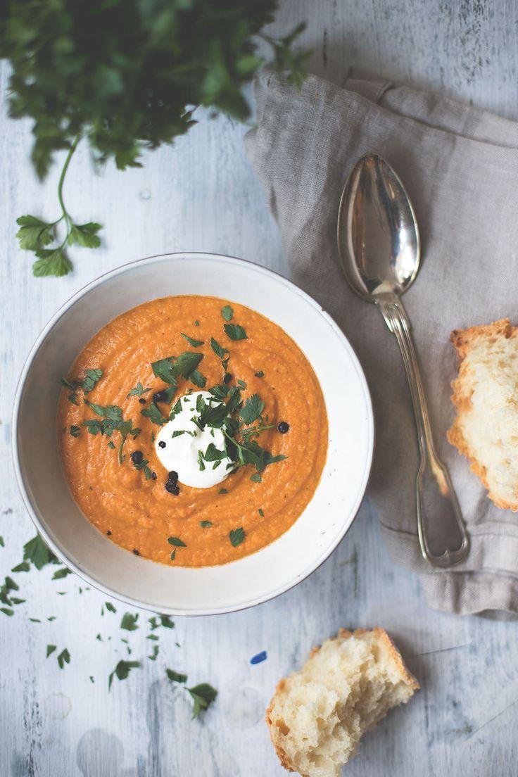 Rezept für würzige Rote-Linsen-Suppe | moeyskitchen.com