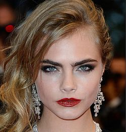 Are you coveting gorgeous supermodel Cara Delevingne's bushy eyebrows? Some people have resorted to getting eyebrow implants (yikes!), but Truth In Aging has a much easier and safer way to achieve healthy brows. #truthinaging #antiaging #beauty