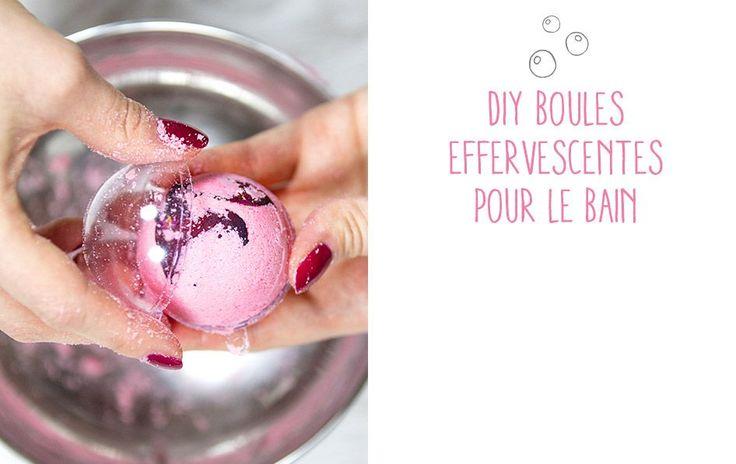 Réaliser vous-même des boules effervescentes pour le bain, c'est facile ! Retrouvez les astuces bien-être pour créer un moment de détente unique. Suivez le pas à pas.