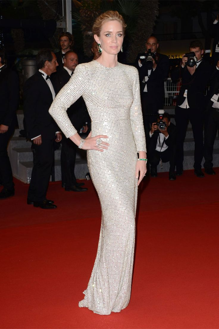 Emily Blunt de Stella Mc Cartney, Cannes 2015