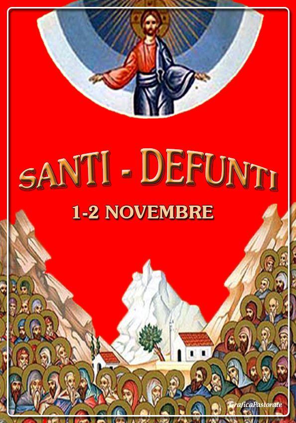 Manifesto Santi e Defunti (1-2 novembre 2016)