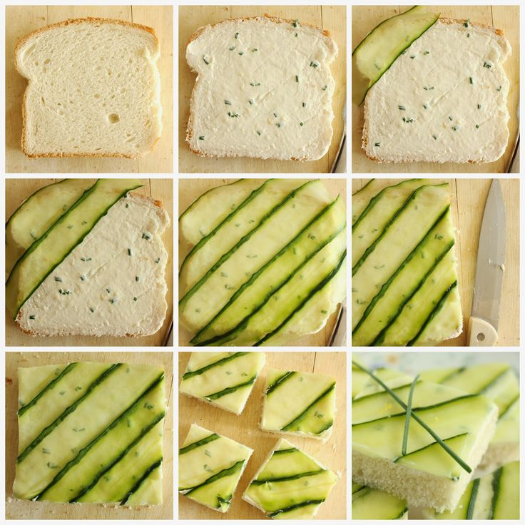 Baking with Blondie : Cucumber Tea Sandwiches                                                                                                                                                                                 More