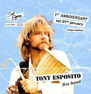 Al Lanificio 25  il primo anniversario di Soul Express, che omaggerà il funk partenopeo con il concerto di Tony Esposito. #livemusic #Napoli