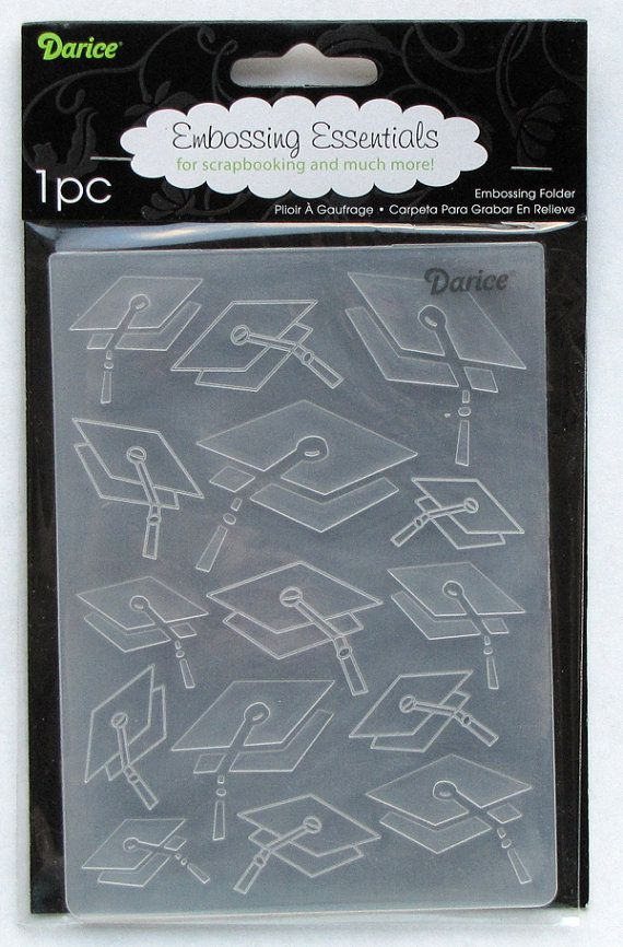 Darice Graduation A2 Embossing Folder By Catscrappin On Etsy 4 50