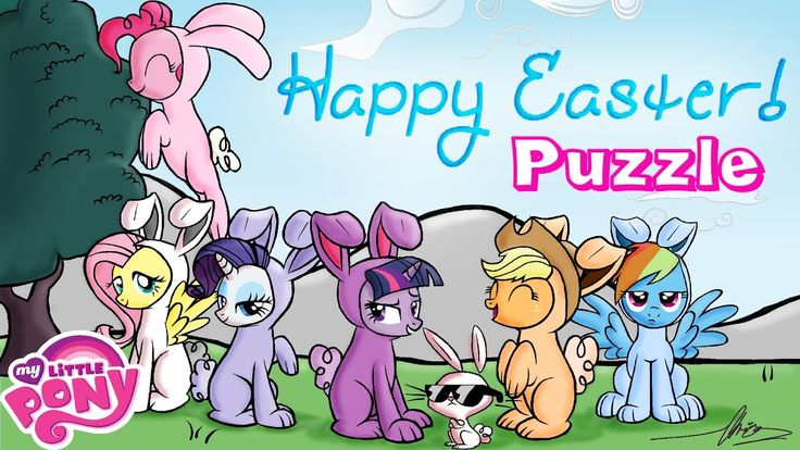 My Little Pony Happy Easter! Puzzle Game for Kids and Toddlers