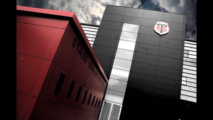 Le stade Ernest-Wallon vu de l'extérieur.