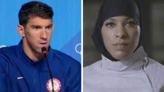 Michael Phelps Urged To Give Up Position As Olympic Flag Bearer. That would be a mistake - Michael,  you earned this honor being the most decorated  athlete in Olympic History.   No one more appropriate to carry Old Glory representing the United States of America than you. You give encouragement  to all those young people that hope to someday follow in your footsteps. America is proud of you!