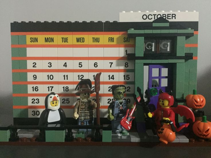 Lego Calendar - October 2016