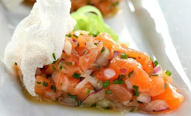 Receita de ceviche de salmão