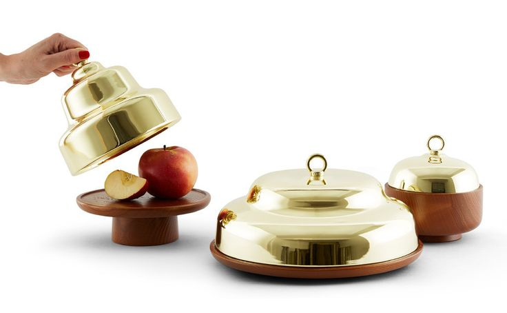 Belle - Cake stand with cloche | Incipit: made in Italy – Incipit lab —Objects & home accessories, designed and made in Italy