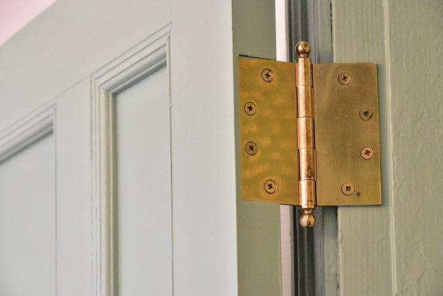 How To Install Adjust Or Remove A Spring Loaded Hinge With Images Squeaky Door Squeaky Door Hinges Door Hinges