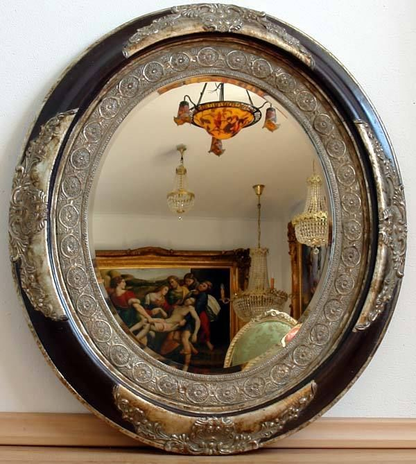 Les 25 meilleures id es concernant miroir baroque sur for Miroir gris argent