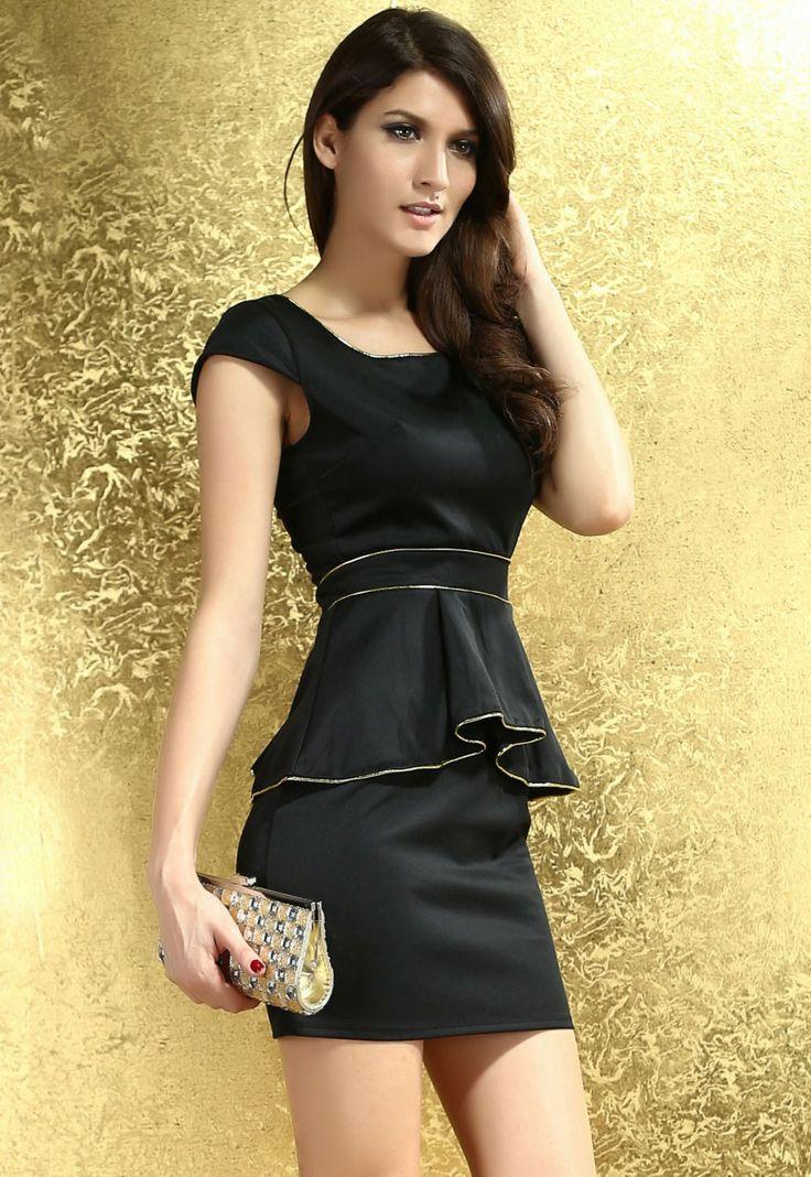 20 besten Short Sleeved Dresses Bilder auf Pinterest   Clubkleider ...