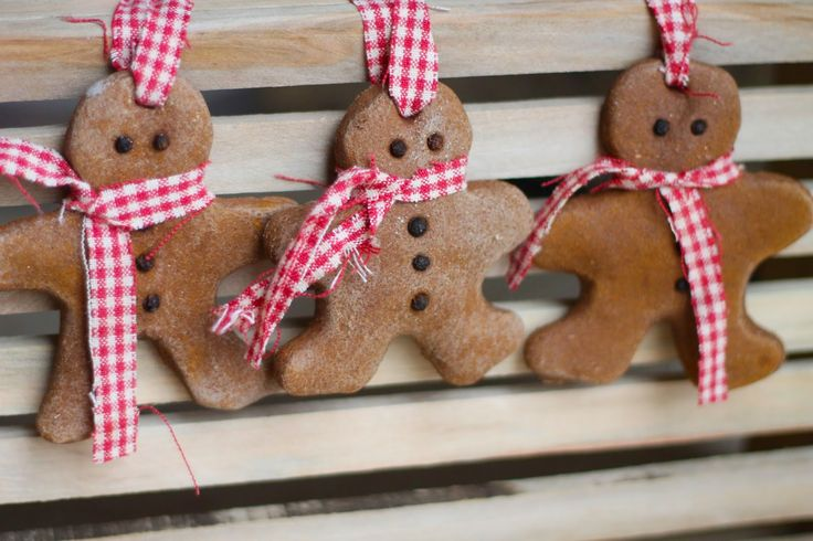 Cinnamon salt dough makes for a strong, sturdy gingerbread man. Dress him up with a checkered scarf (in case he gets cold).  Get the tutorial at Where Your Treasure Is »   - GoodHousekeeping.com