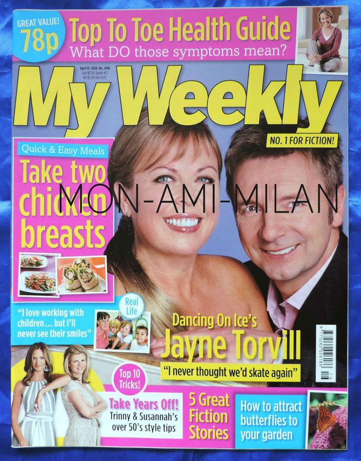 JAYNE TORVILL Torvill & Dean DAME BERYL GREY - Rare UK Magazine 2008 Mag
