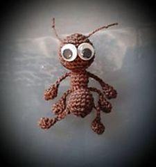 Amigurumi Little Ant - Tutorial ❥ 4U hilariafina  www.pinterest.com...