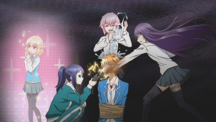Torture...pure unadulterated torture. Kazuma is f***ed.