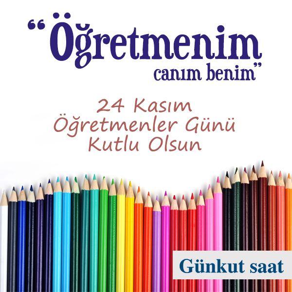 """Tüm Öğretmenlerimizin """"24 Kasım Öğretmenler Günü"""" Kutlu Olsun!"""