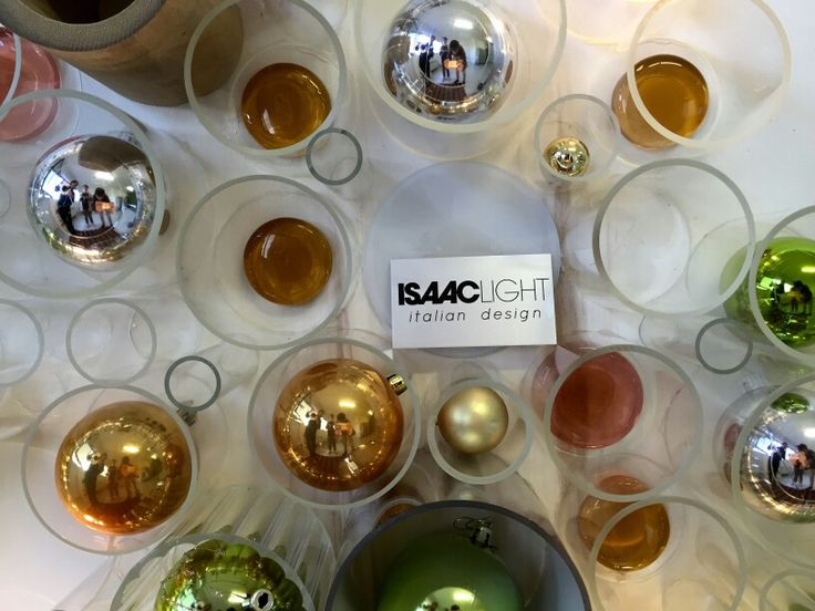 #ISAACLIGHT brings the Christmas! Design made in Italy for your festivity
