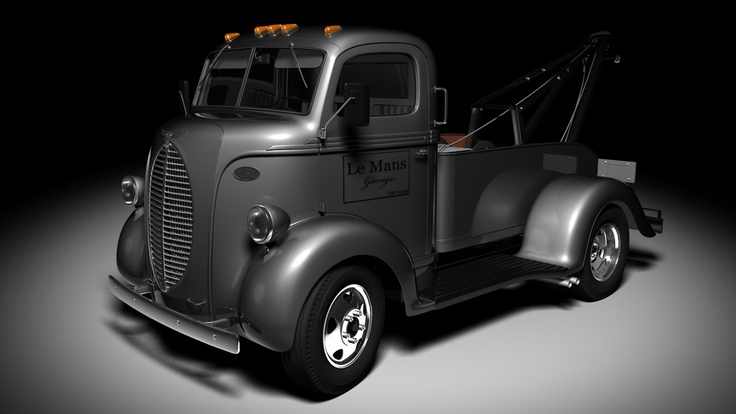 Ford COE - I need a tow truck!