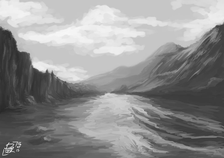 learn landscape painting