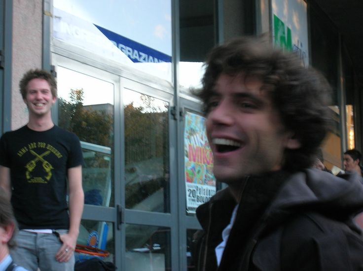 Mika and Andy the camera man
