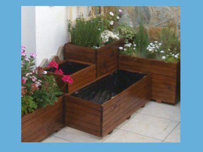 fabricar jardineras de madera es muy fcil te lo mostramos