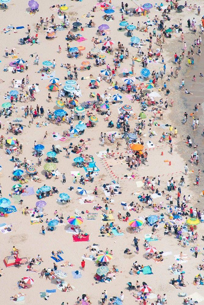 Coney Island Beach . New York