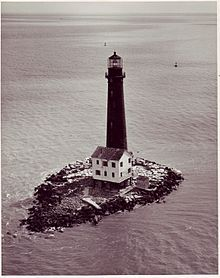 Sand Island Lighthouse is a lighthouse located at the southernmost point of the state of Alabama, United States, near Dauphin Island, at the mouth of Mobile Bay, Alabama
