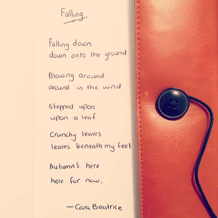 """My poem """"Falling"""" - cara beatrice"""