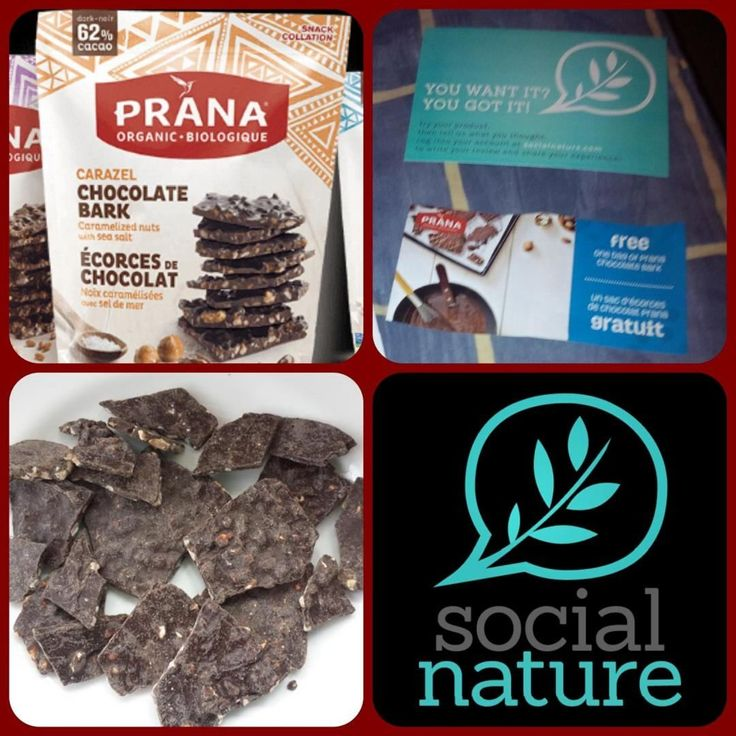 Oooooh so excited for bark!!!!! Thank you @socialnature #PranaBio for another yummy opportunity to test! #GotItFree #FairTrade #PranaBark #Vegan #GlutenFree #trynatural #Canadian #Organic #GMOFree #Kosher