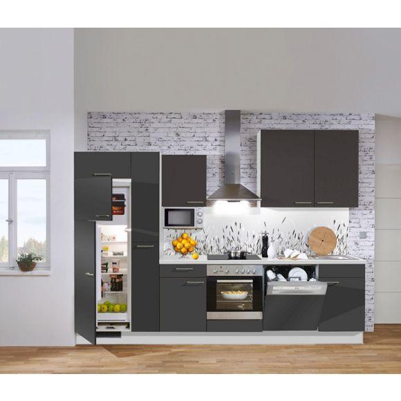 15 best Moderne Küchenzeilen images on Pinterest - kleine küchenzeile mit elektrogeräten