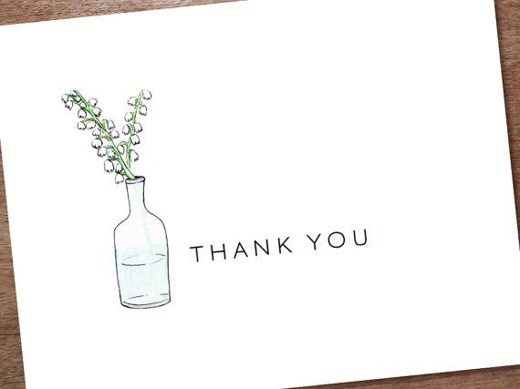 Printable Thank You Card Template - Instant Download Thank You - thank you card template