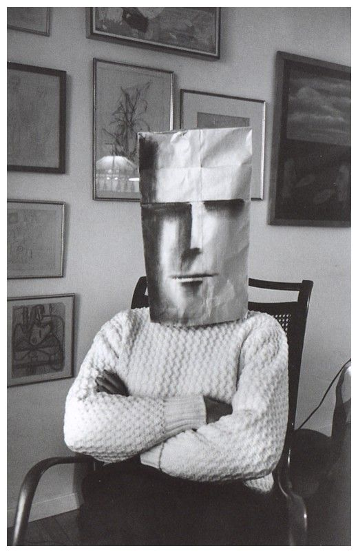 Saul Steinberg and Inge Morath (the series photographed by Morath 1961-62).
