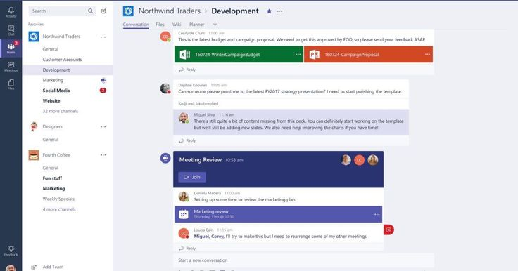 The potential Slack-killer is rolling out to all Office 365 users today. #technology #techinel #technews